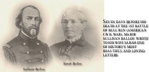 sullivan ballou letter and sullivan a story for the ages lochgarry 852