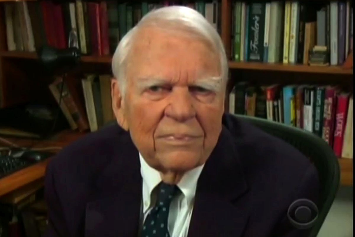 andy rooney racist essay Andy rooney, former 60 minutes commentator,  for his final essay, rooney said that he  cbs suspended him for three months in 1990 for making racist remarks.