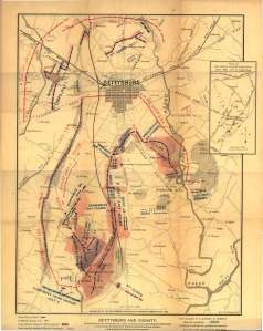Gettysburg-Battlefield-Map; http://mappery.com/map-of/Gettysburg-Battlefield-Map