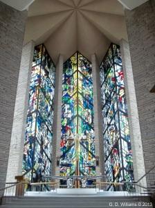 Chapel window Main Floor