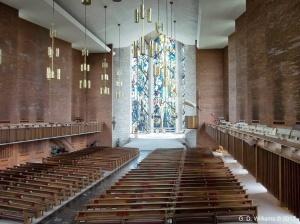 Chapel Window From Balcony
