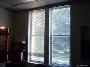 Office Window At Sunrise