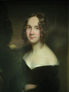 Sarah Josepha Hale, painted by James Reid Lambdin (1807-1889). Richard's Free Library, Newport, New Hampshire.