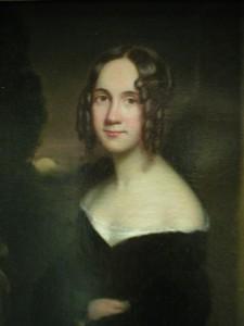 Sarah Josepha Hale, painted by James Reid Lambdin (1807-1889). Richard's Free Library, Newport, New Hampshire.