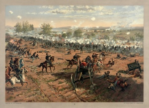 The Battle of Gettysburg July 1-3, 1863
