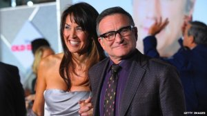 Susan Schneider and Robin Williams Getty Image