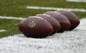 Footballs, like tires, will deflate when temperatures drop. (Getty Images)