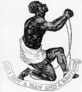 Josiah Wedgwood created this medallion circa 1787.